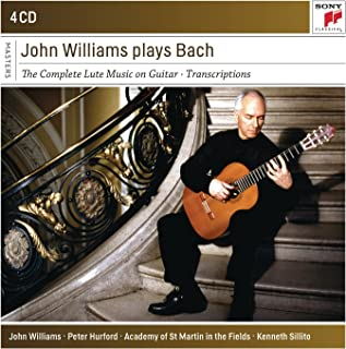 John Williams Plays Bach Box-Set