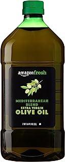 AmazonFresh Mediterranean Blend Extra Virgin Olive Oil, 68 Fl Oz (2L)