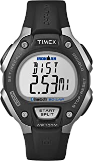 Unisex TW5K86300F5 Ironman Classic 50 Move + Watch with Black Resin Band