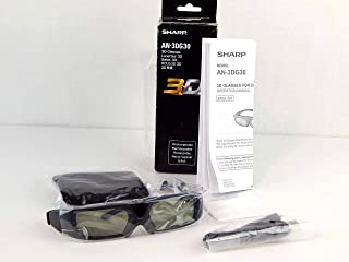 Sharp AN3DG30 Active 3D Glasses (Discontinued by Manufacturer)