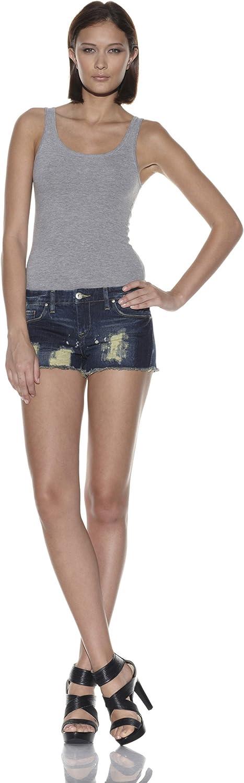 [BLANKNYC] Women's Ripped Denim Short