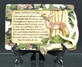 Prayer Plaque Deer Hunter Tabletop Home Decor Statue Best Gift Sculpture Antler Christmas Birthday Party Ideas Decorative Accent