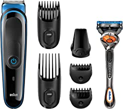 All-in-One Beard Trimmer for Men by Braun, MGK3045, 7-in-1 Precision Trimmer for Beard and Hair Styling, Detail Trimmer At...
