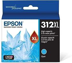 Epson T312XL220 Claria Photo HD Cyan High Capacity Cartridge Ink