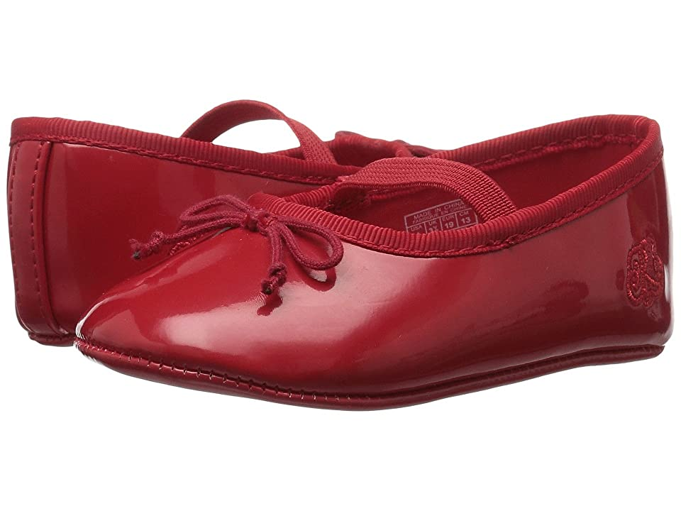 Polo Ralph Lauren Kids Allie (Infant/Toddler) (Red Patent) Girls Shoes