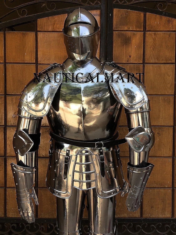 Armor Eatched Nauticalmart intégral de poitrine avec plaque de predection Predègeépaules et les jambes