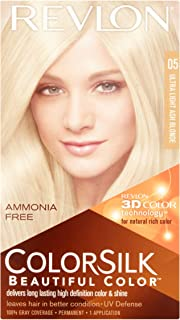 Revlon ColorSilk Beautiful Color, [05] Ultra Light Ash Blonde 1 ea (Pack of 12)