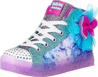 Skechers Kids' Shuffle Bow Brights Sneaker
