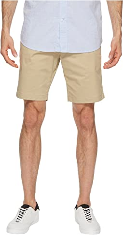 Calvin Klein Flat Front Stretch Walking Shorts