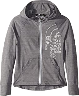 Tri-Blend Full Zip Hoodie (Little Kids/Big Kids)