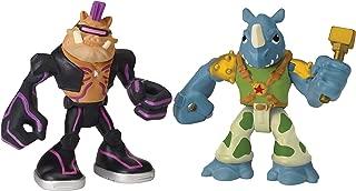 Nickelodeon Teenage Mutant Ninja Turtles Pre-Cool Half Shell Heroes Bebop and Rocksteady Figures
