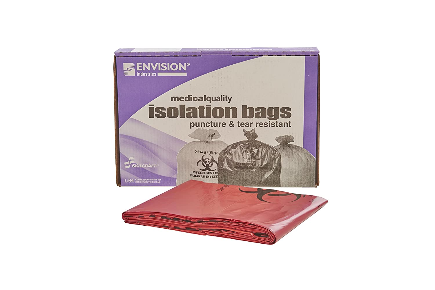 Dealing full price reduction Stout by Envision - ISR-5055-XH Red Waste 50-55 Gallon Manufacturer regenerated product Biohazard
