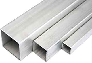Stahl Quadratrohr Konstruktionsrohr Stahlrohr Vierkantrohr Hohlprofil kaltgefertigt Roh Schwarz 40x40x3mm 2000mm