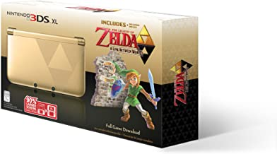 Nintendo 3DS XL Gold/Black - Limited Edition Bundle with The Legend of Zelda: A Link Between Worlds