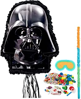BirthdayExpress Star Wars Party Supplies - Darth Vader Pinata Kit