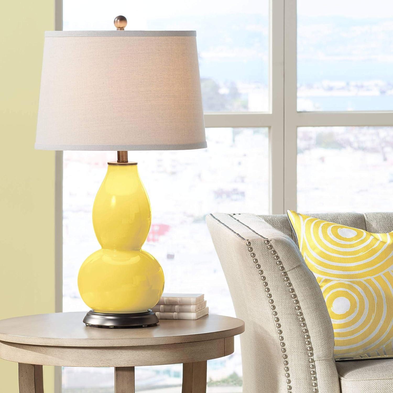 Lemon Zest Max 46% OFF Double Gourd Table Color - Lamp Columbus Mall Plus +