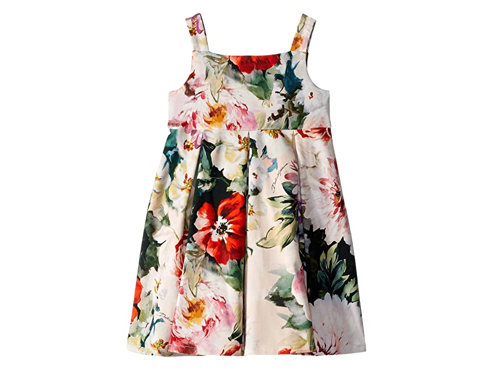 Dolce & Gabbana Kids DG Floral Dress (Infant) (Multi) Girl