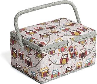 comprar comparacion Hobby Gift MRM/195 | ulular - De tamaño mediano - Cesta de costura | 18.5x26x15cm
