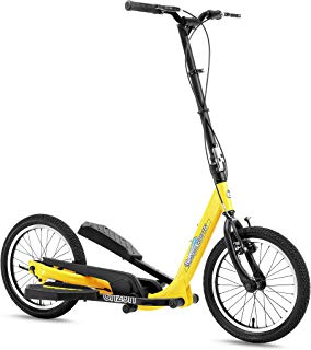 BRIZON New Model - Wingflyer16- Excercise Stepper Scooter (16inch Air Tire)