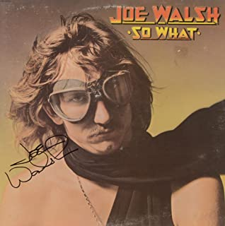 Joe Walsh Autographed So What Album Cover - COA - PSA/DNA Certified