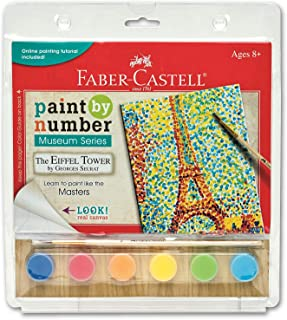 Faber-Castell Paint by Number Museum Series - The Eiffel Tow