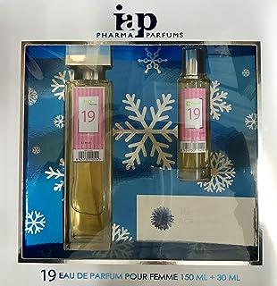Pack de perfume 150 ml + 30 ml iap perfume nº 19 eau de parfum mujer estuche de regalo