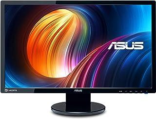"""ASUS VE248H 24"""" Full HD 1920x1080 2Ms HDMI DVI VGA Back-Lit LED Monitor,Black"""
