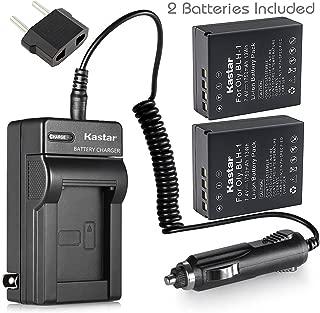 Kastar Battery 2 Pack & AC Travel Charger for Olympus BLH-1 BLH1 Battery and Olympus OM-D OMD E-M1 Mark II EM1 MARKII MARK2 Digital Camera