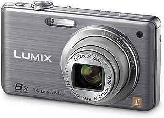 Panasonic LUMIX DMC-FS33EG-S - Cámara Digital (14 megapíxeles Zoom óptico 8X Pantalla de 762cm estabilizador de Imagen) Color Plata