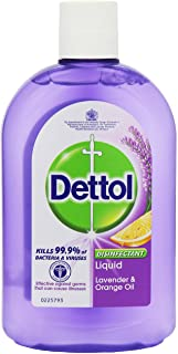 Dettol Disinfectant Liquid Lavender and Orange 500 ml