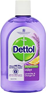 Dettol Antiseptic Liquid Lavender & Orange Oil 500ml