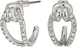 Swarovski - Small Lifelong Hoop Pierced Earrings