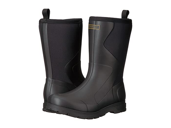 Ariat  Springfield Rubber Boot (Black) Mens Pull-on Boots