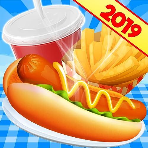 Kochspiele Restaurantchef: Kitchen Fast Food Fever