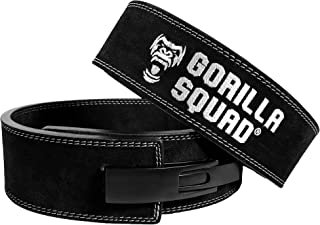 GORILLA SQUAD レバーアクションベルト パワーベルト パワーリフティング トレーニングベルト 筋トレ