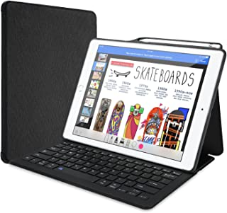 "ProCase Keyboard Case for iPad Pro 12.9"" 2017/2015 Old Model with Built-in Apple Pencil Holder, Slim Lightweight Cover Fol..."