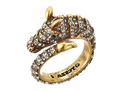 J.Crew Wild Pave Zebra Ring (Crystal) Ring