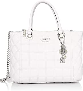Guess Kamina Status Satchel White