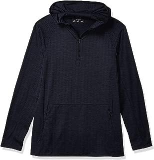 Peak Velocity Amazon Brand Men's Knit Jaquard Pullover, Navy, X-Large