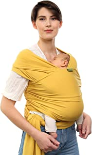 Boba Baby Wrap Carrier - Original Child and Newborn Sling (Serenity Summer Sun)