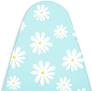 Encasa Homes Replacement Ironing Board Cover with Thick Felt Pad, Drawstring Tightening, (Fits Standard Wide Boards of 18 ...