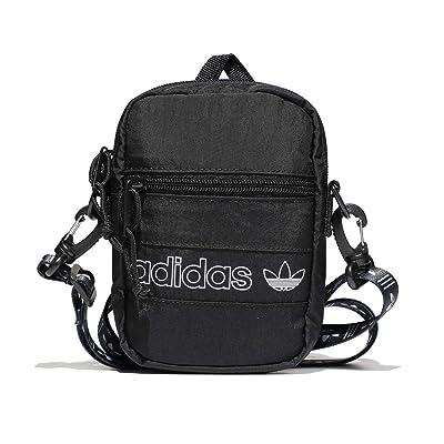 adidas Originals Originals Festival Bag Crossbody (Black/White/Black) Bags
