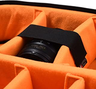Pack of 3 Sizes Hook and Loop Straps/Fastener for Securing Items in The DSLR SLR Camera Backpack/Insert Bag/Video Bag