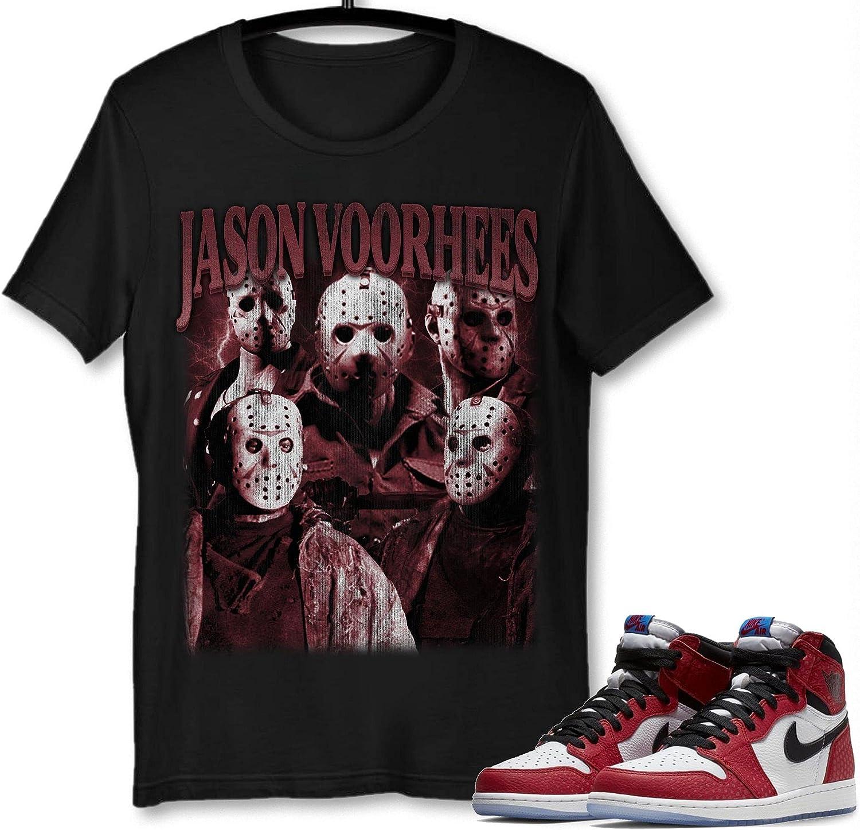 #Jason #Voorhees Over item handling T-Shirt to Match Sneaker Sn 1#Spider-Man Jordan Special price