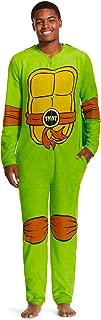 TMNT Union Suit w/Cape Teenage Mutant Ninja Turtles Men's Pajamas