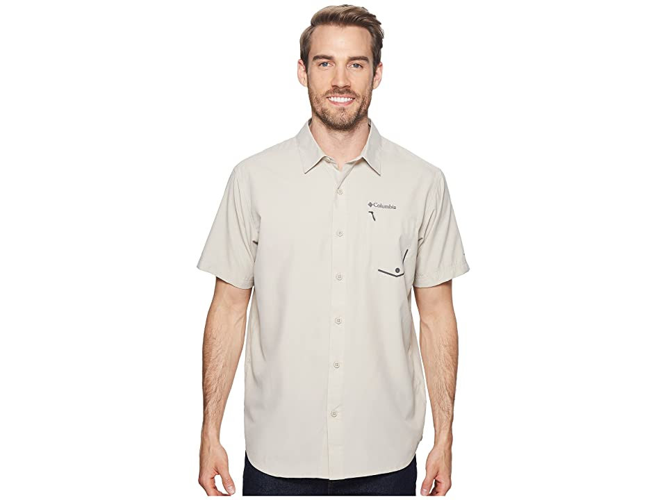 Columbia Twisted Creek Short Sleeve Top (Fossil) Men