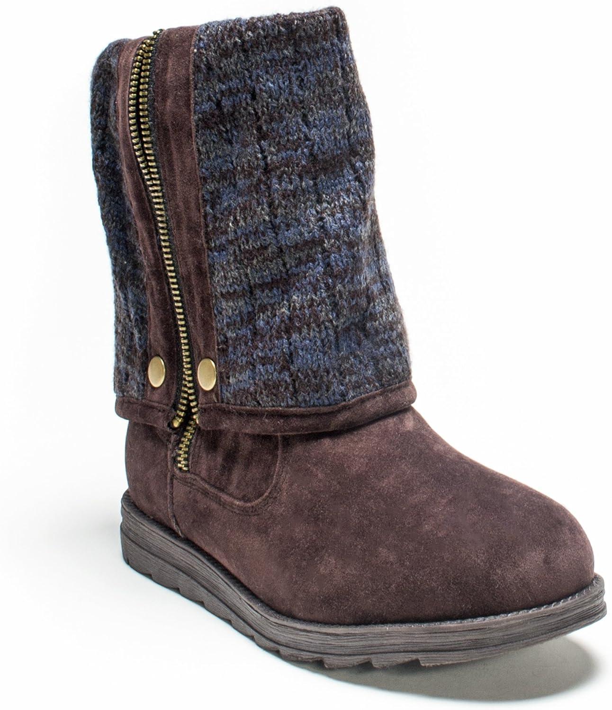 MUK LUKS Women's Demi Marl Winter Boot