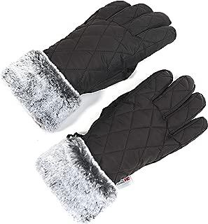 Women Winter Ski Glove Waterproof 3M Thinsulate Warm Windproof Snow