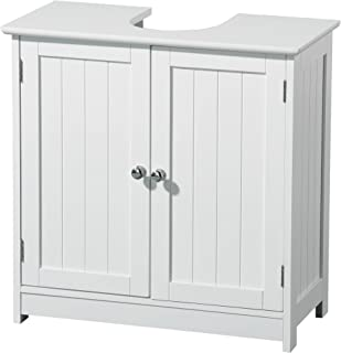 Premier Housewares - Mueble para Debajo del Lavabo (Madera,