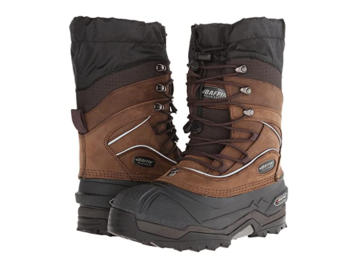 Baffin  Snow Monster (Worn Brown) Mens Cold Weather Boots